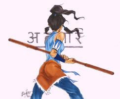 Avatar Korra - I by BlepoZini
