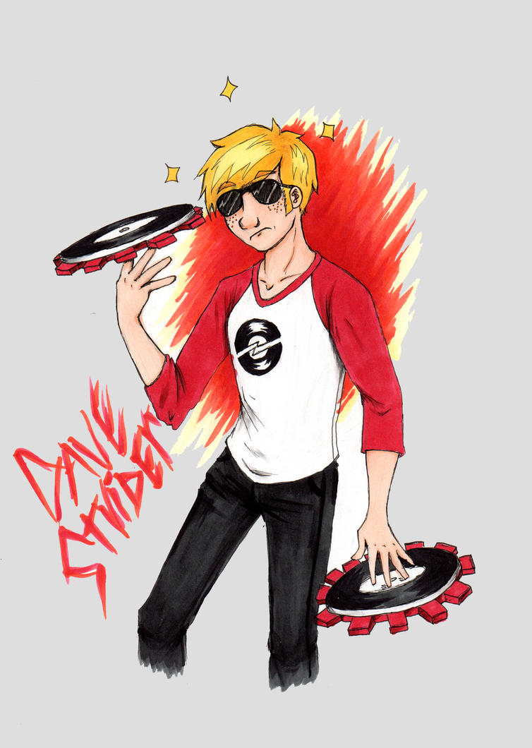 Dave Strider by quincyfangirl