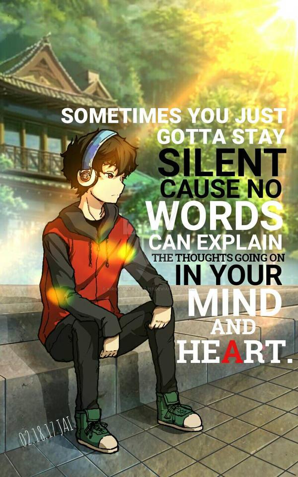 Silent Thoughts by kirigayakazuto213