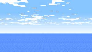 Minecraft Background 'Sea'
