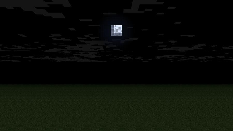 Minecraft Grass Night Bg By Jabjabjab On Deviantart