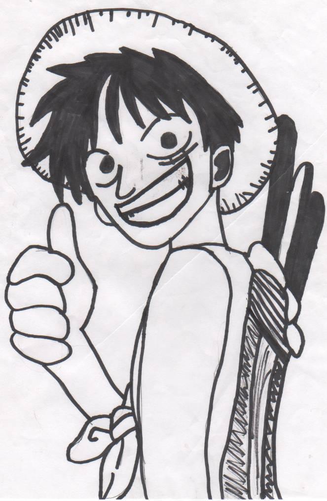 Mugiwara no Luffy by things24