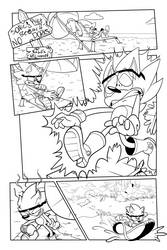 A Zoneful of Zones, pg. 1 (Inks) by TheEnigmaMachine