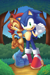 Sonic The Hedgehog Online 250 Variant Cover Colors