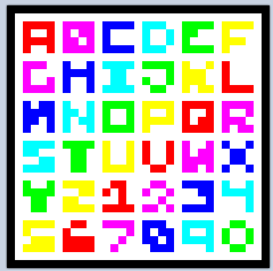 Minecraft  Letter Name List