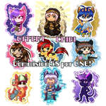 Chibi Commisions Open! OFFERT NOW by LittlePoisonella