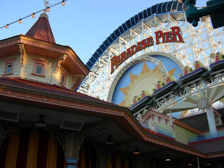 Paradise Pier by jensey
