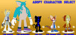 Character Adopts Set 1 - 4/5 OPEN - Details below. by GuardianMobius