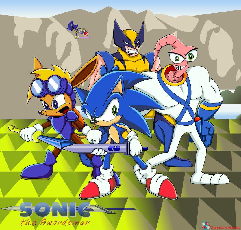 Sonic X the Swordsman