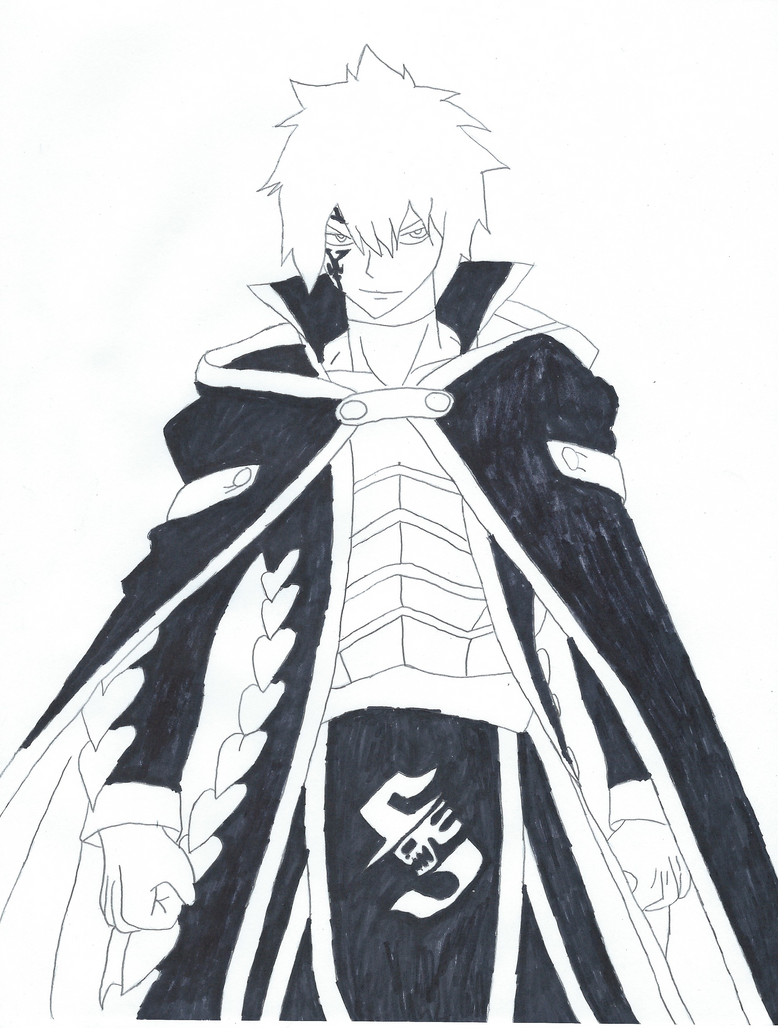 how to draw jellal fernandes