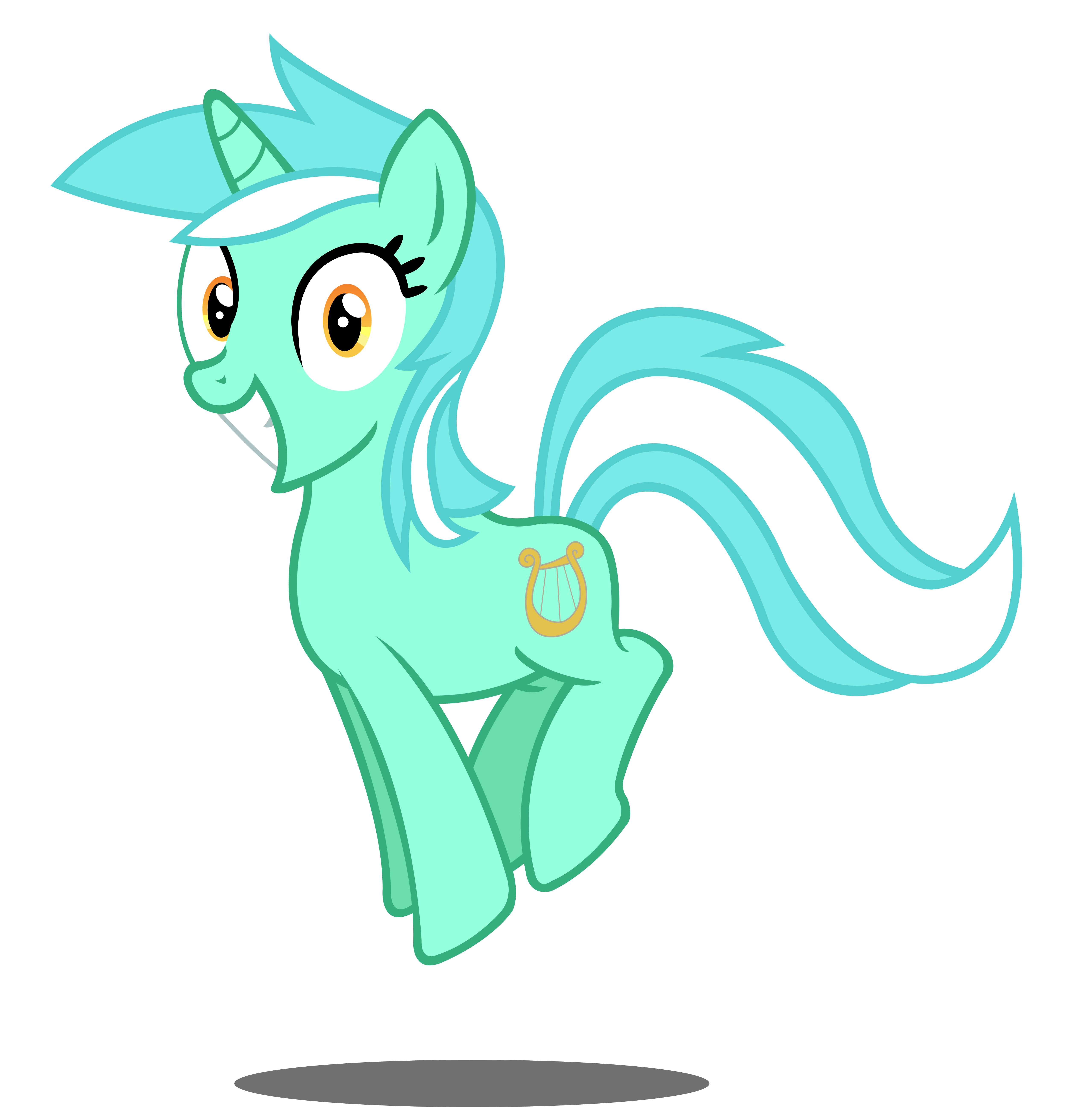 Super Happy Lyra by Moonbrony