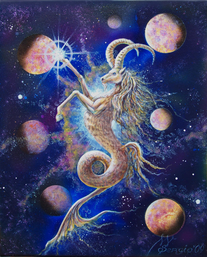 Zodiac sign of Capricorn by SergeM73