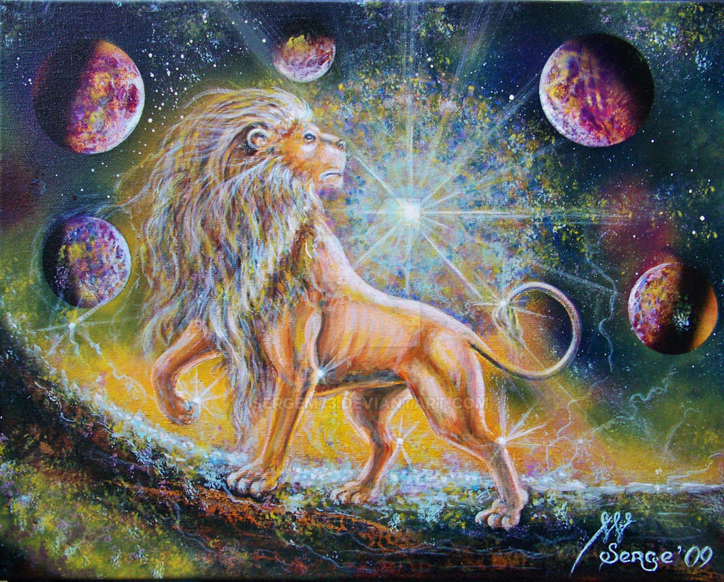 Zodiac sign of Leo