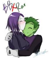 Take a hug :BBxRae: Giftart by Neroh-chan
