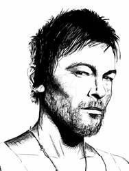 Norman Reedus / Daryl Dixon portrait