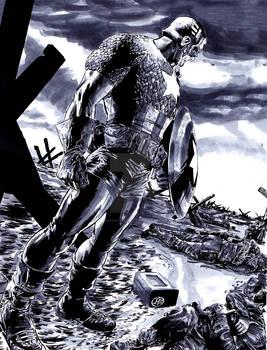 Captain America D-Day