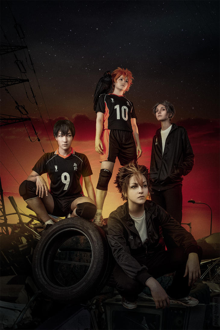 Karasuno by Crown-trickster