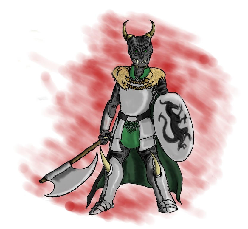 Armored Sirrush