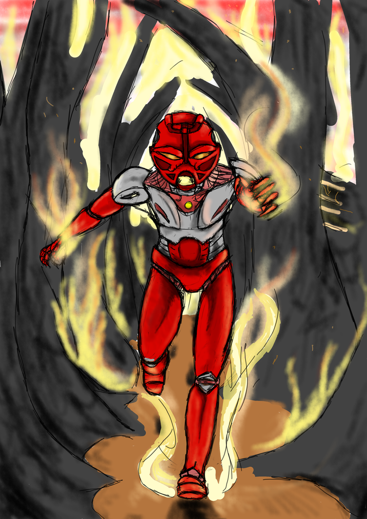 Seven Deadly Toa- Wrath by Shadow-Lockheed