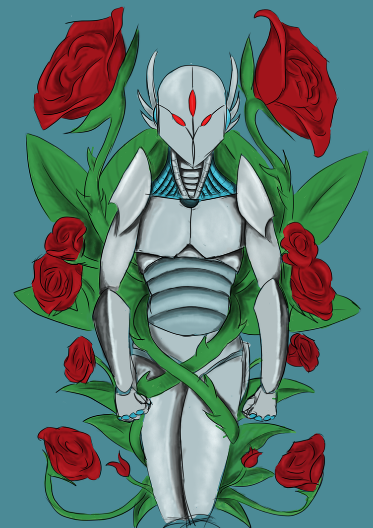 Covered By Roses by Shadow-Lockheed
