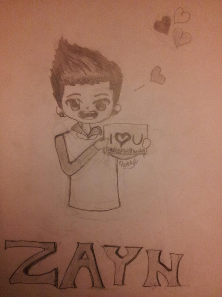 how to draw zayn malik chibi