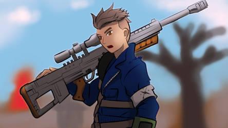 Minutemen Sniper by 13thBloodhound