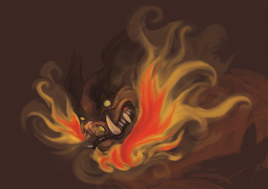 Emboar - Speed paint by Kanigaro