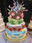 Crazy Flower Cake