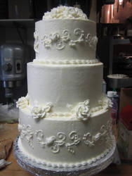 Wedding Cake 2 by leprechaunbabe