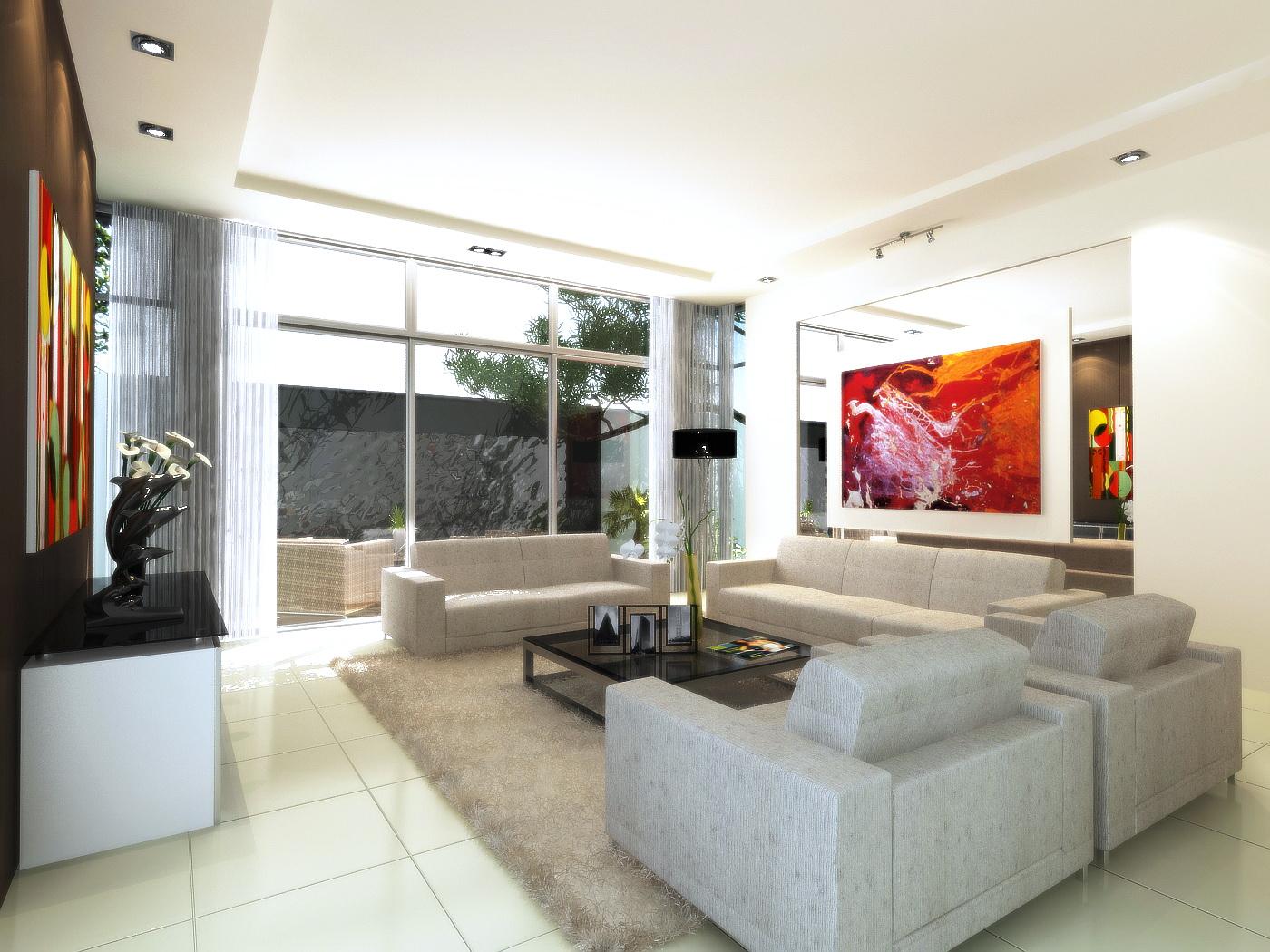 Living Hall for KLG by rockrockzai on DeviantArt