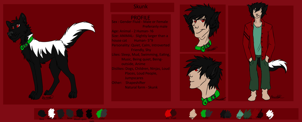 Skunk Ref 2015 by spiritwolf1999