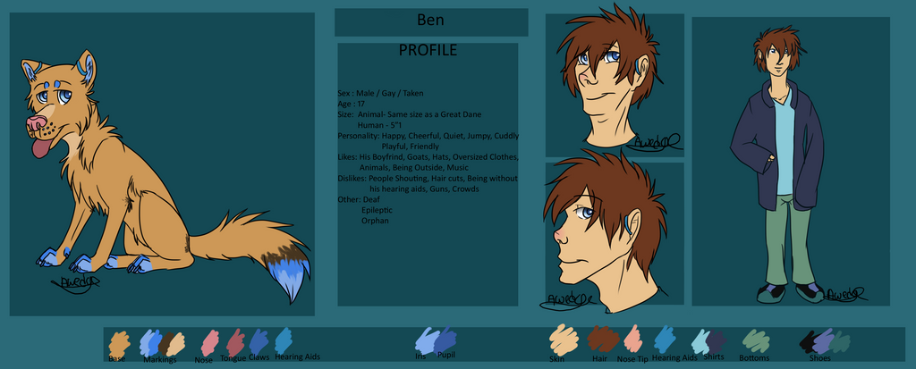 Ben Ref 2015 by spiritwolf1999