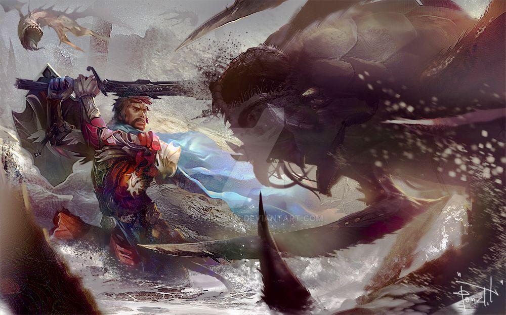 Desert warrior by pondoeon