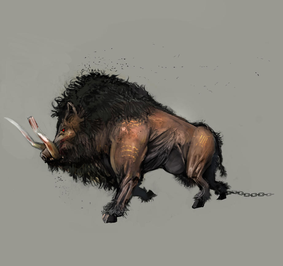 Dirty Boar by pondoeon