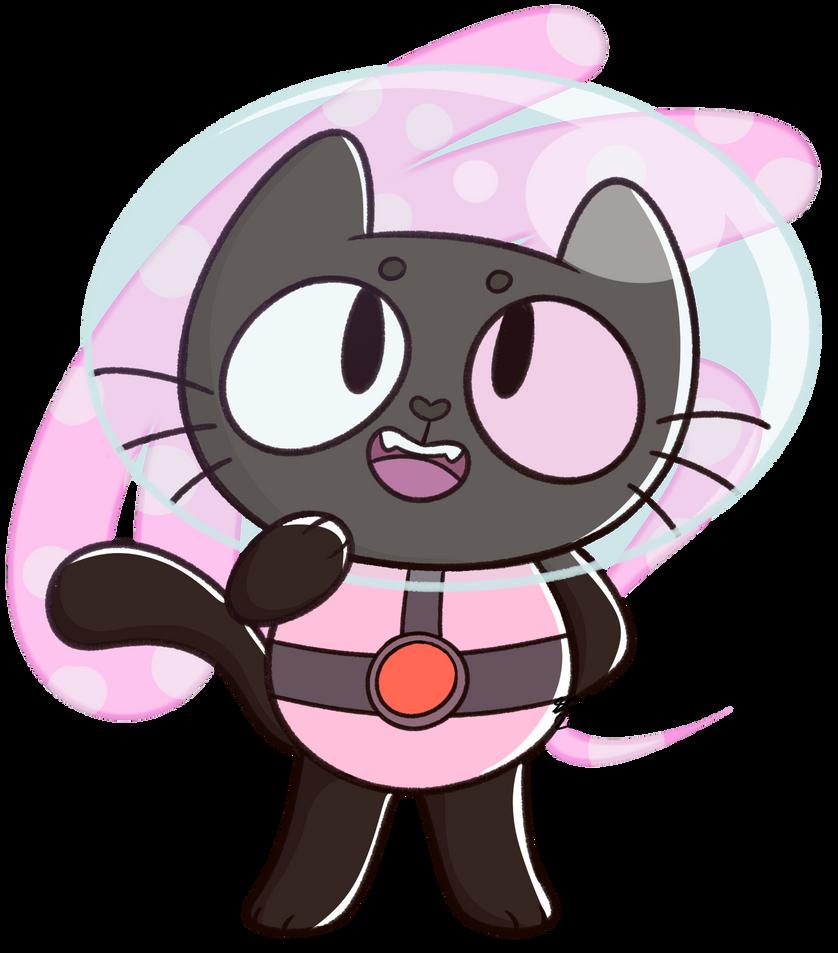 He left his family behind Art (c) Cookie Cat (c) Rebecca Sugar & CartoonNetwork