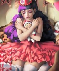 Cry Baby by artsbycarlos