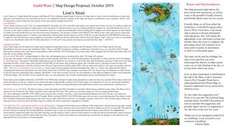 GW2 Map Design Proposal Oct 2019: Lion's Strait