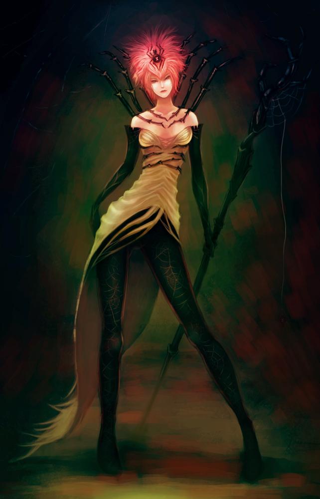 sorceress by Clazz-X1