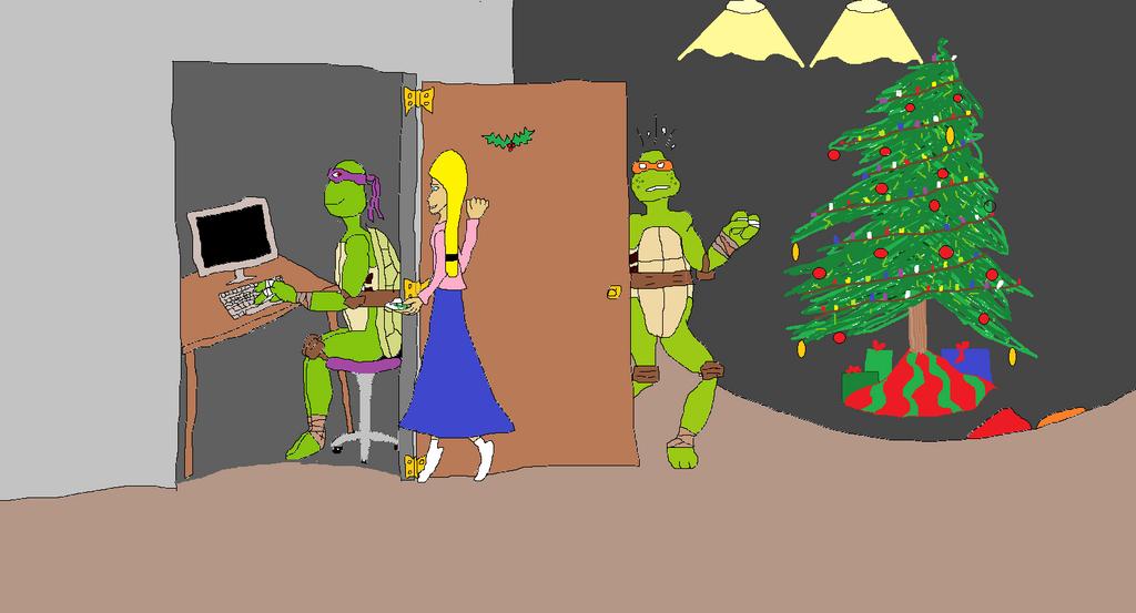 Secret Santa for PurpleTurtle12 by BlueRoseKelly