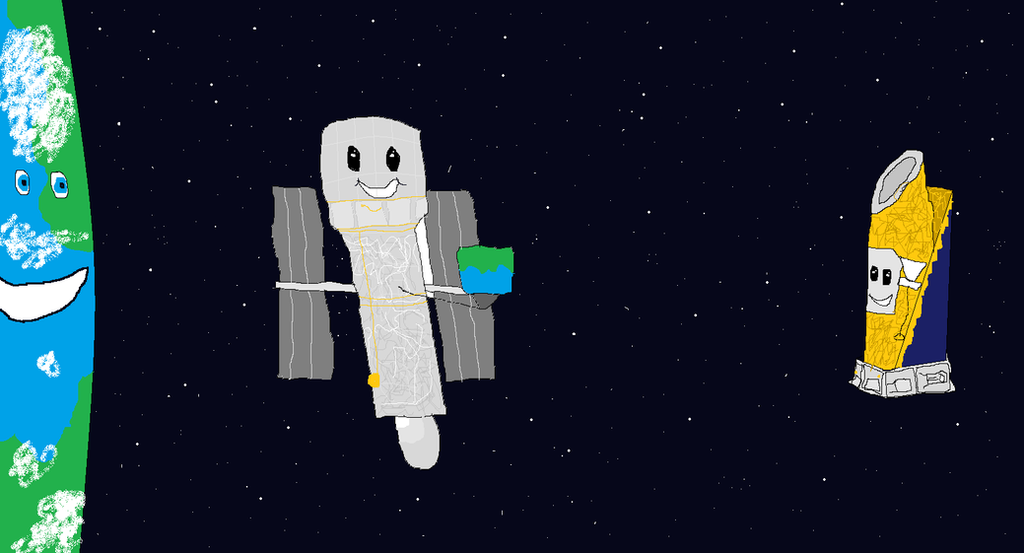 Happy Aniversery Hubble! by BlueRoseKelly