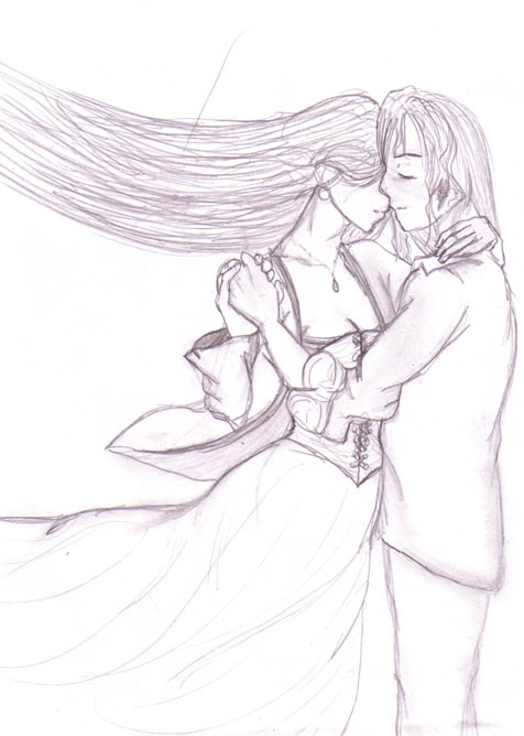 Alucard and Fiona by DriRose
