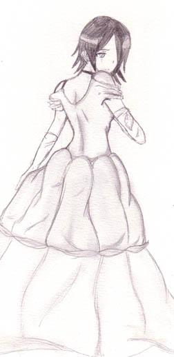 Rukia in a Ballgown by DriRose