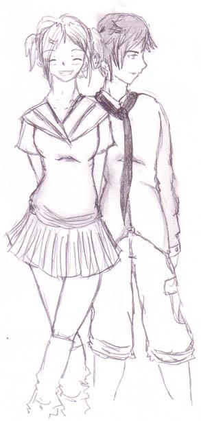 Yuri and Raziel in disguise by DriRose