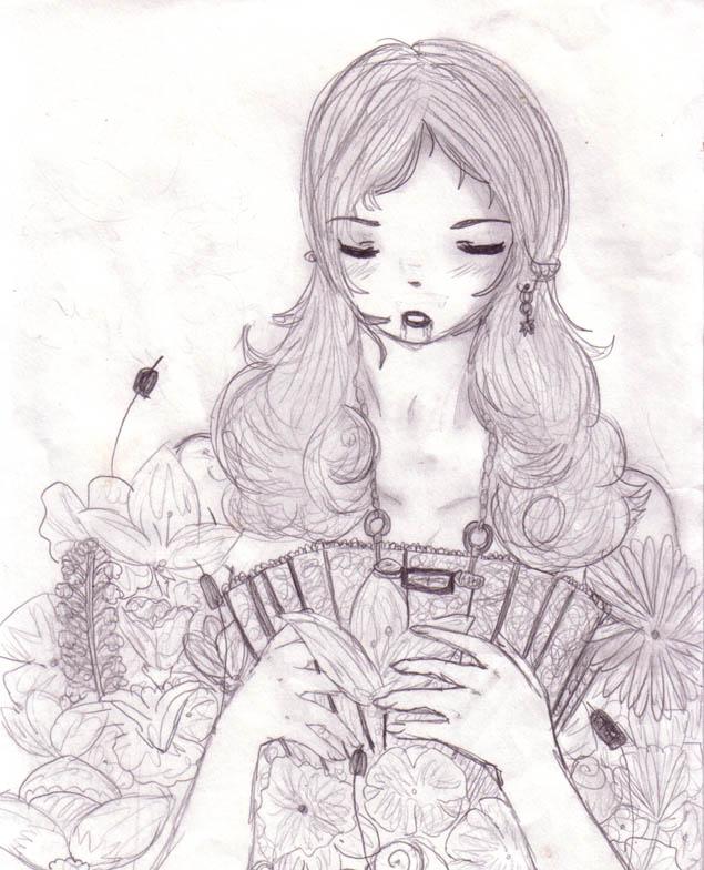 Vampire chick by DriRose