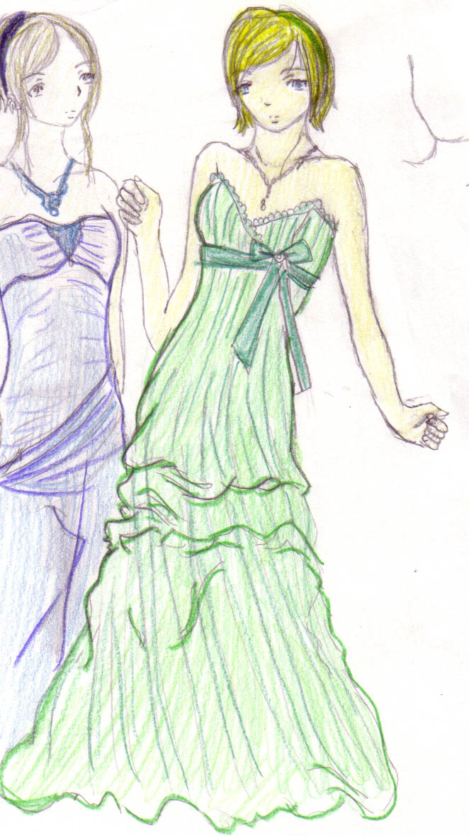 Zenne in her Prom dress lulz by DriRose