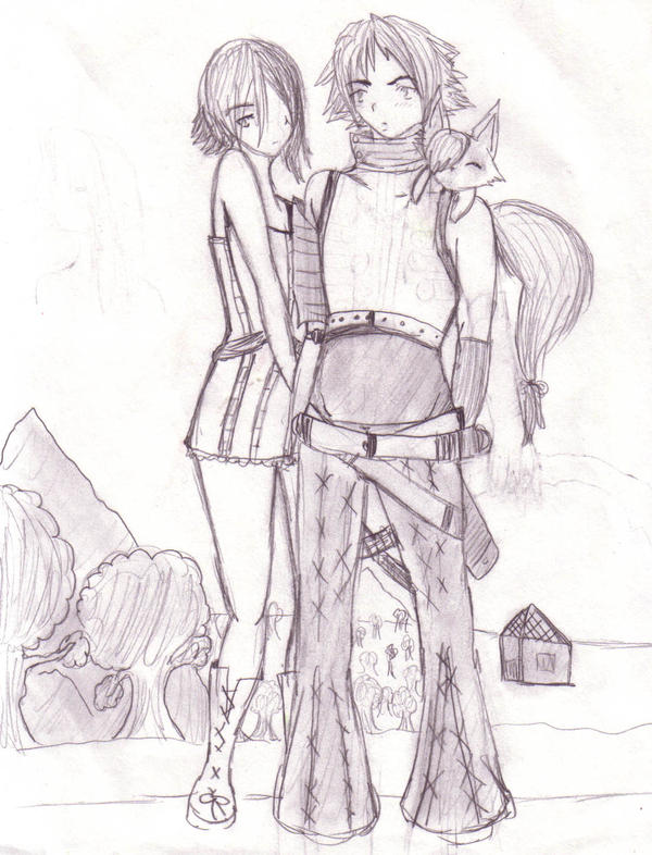 Yuri Xanthos and Kirie by DriRose