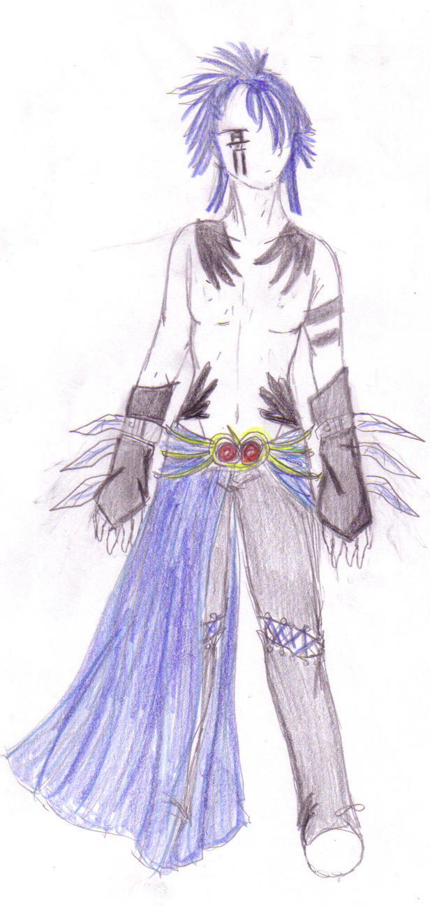 Osiris outfit design colored by DriRose