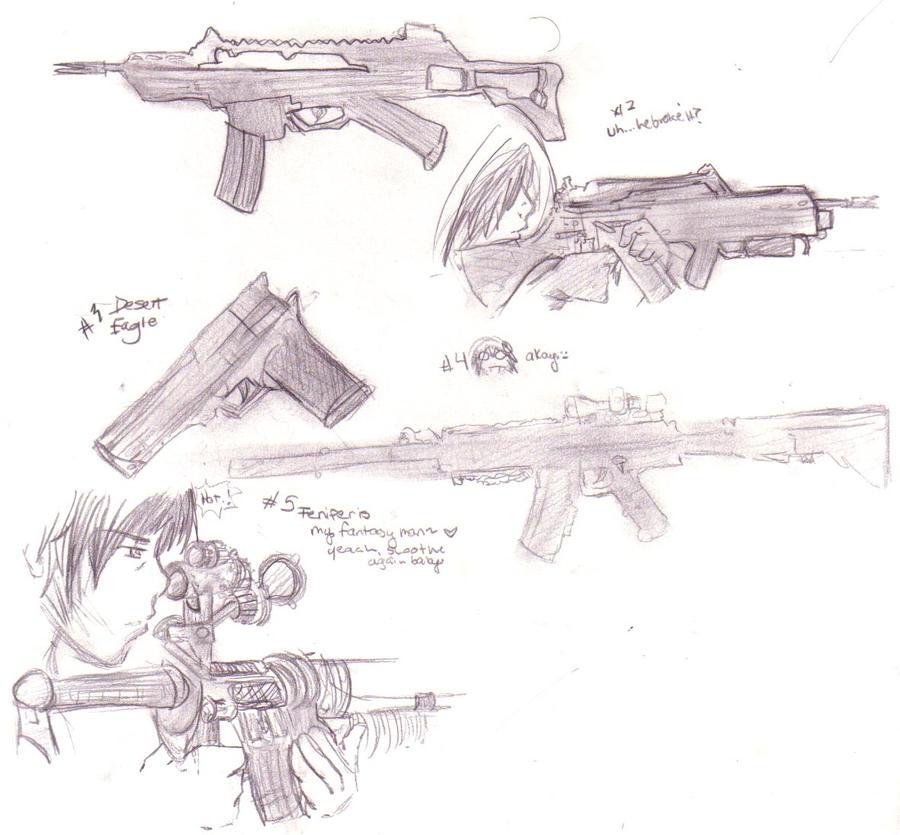 GUNS 3 by DriRose