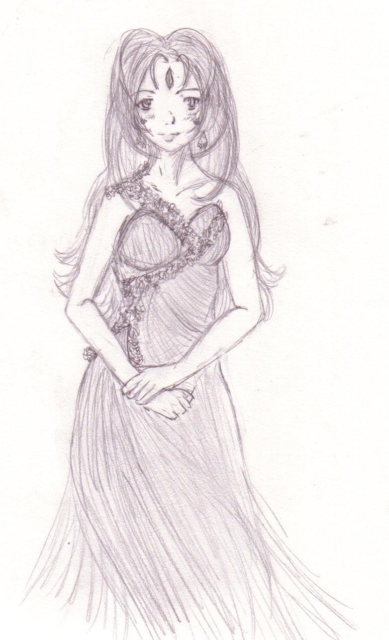 Bell sketch by DriRose