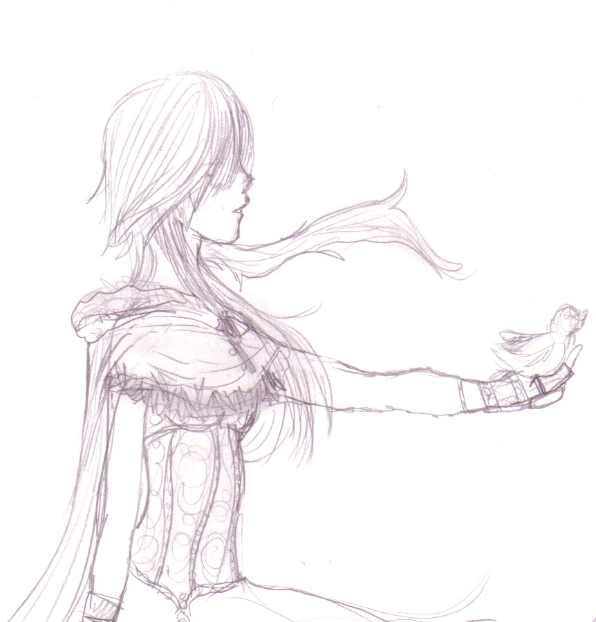 A bird in the hand by DriRose